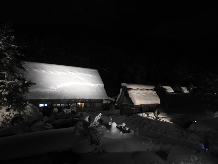 1月28日 第2回白川郷ライトアップ4