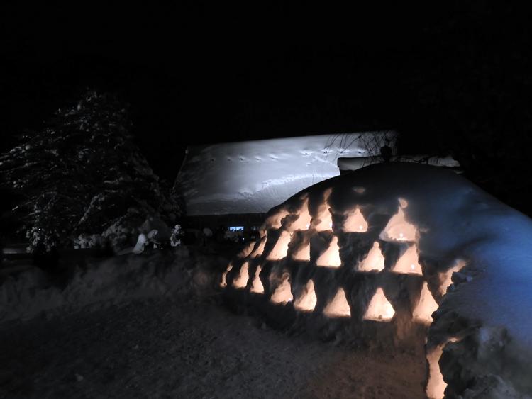 1月28日 第2回白川郷ライトアップ8