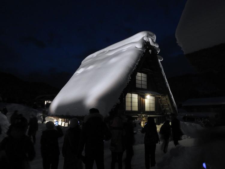 1月28日 第2回白川郷ライトアップ9