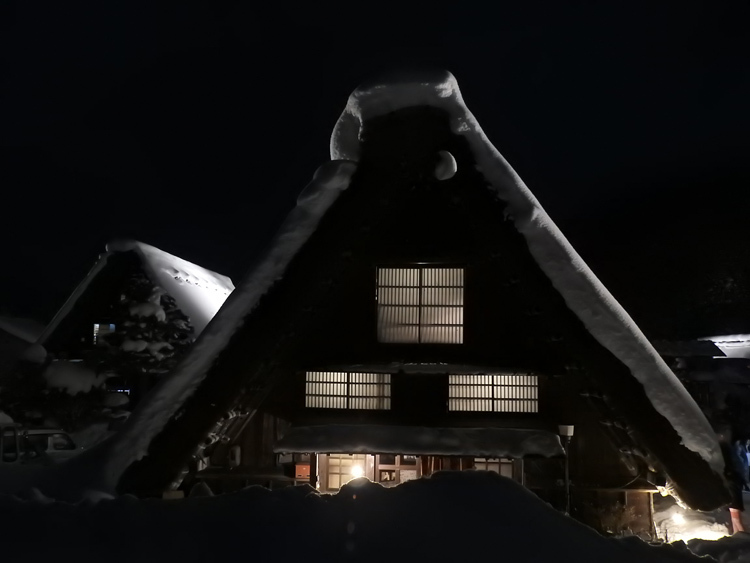1月28日 第2回白川郷ライトアップ10