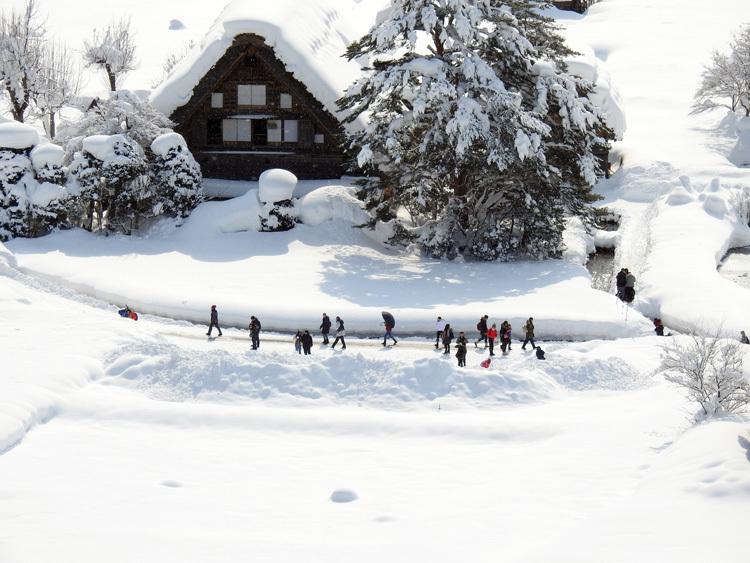 白川郷はやっぱり雪景色2
