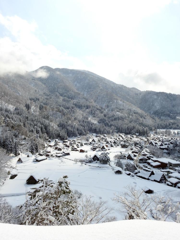 白川郷はやっぱり雪景色3