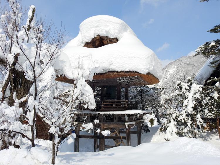 白川郷はやっぱり雪景色4