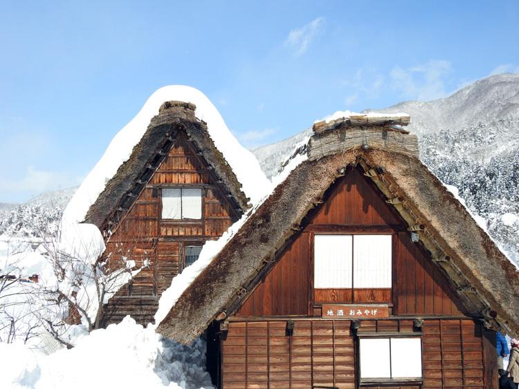 白川郷はやっぱり雪景色6