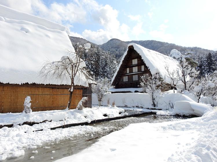 白川郷はやっぱり雪景色7