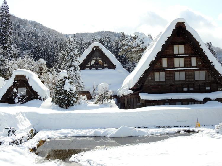 白川郷はやっぱり雪景色8
