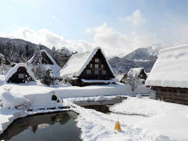白川郷はやっぱり雪景色9