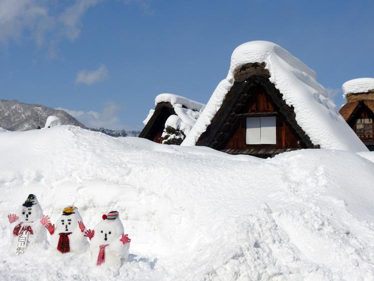 白川郷はやっぱり雪景色11