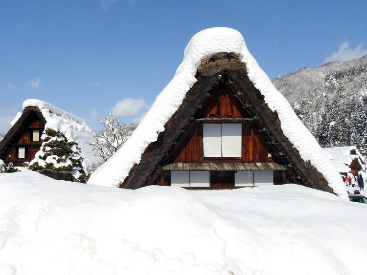 白川郷はやっぱり雪景色12