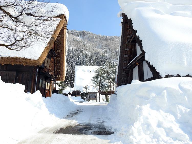 白川郷はやっぱり雪景色13