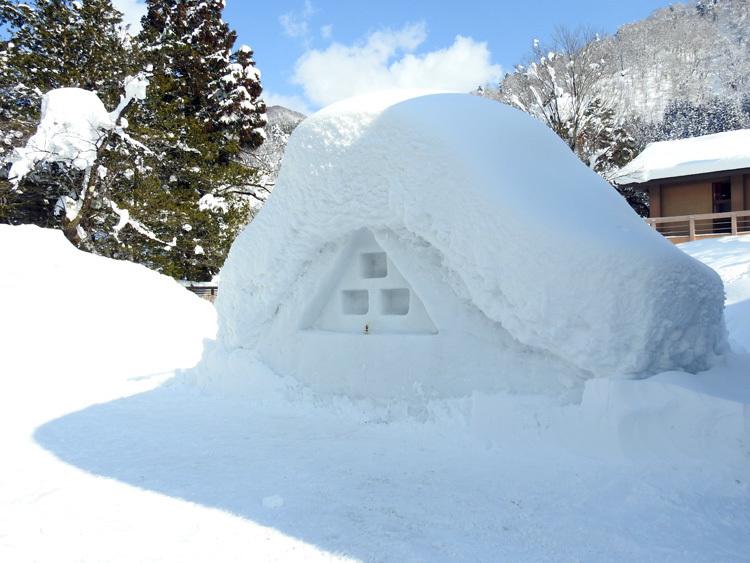 白川郷はやっぱり雪景色14