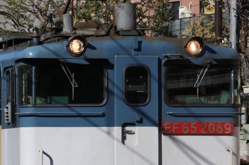 EF65 2089 窓サッシ