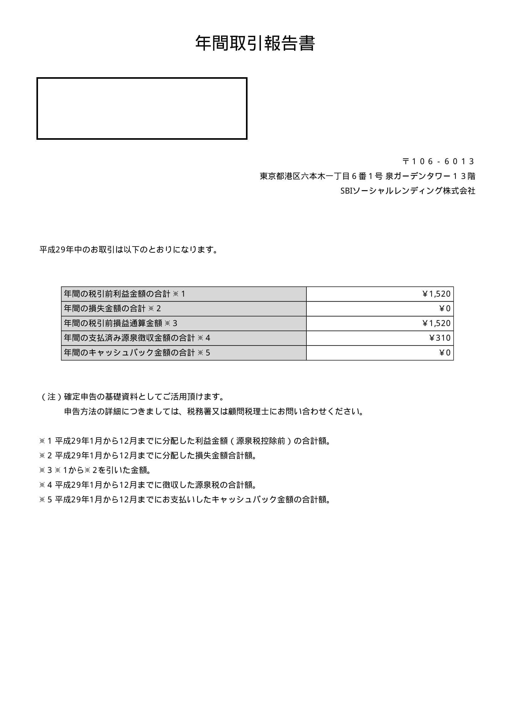 SBI年間取引報告書 (1)-1