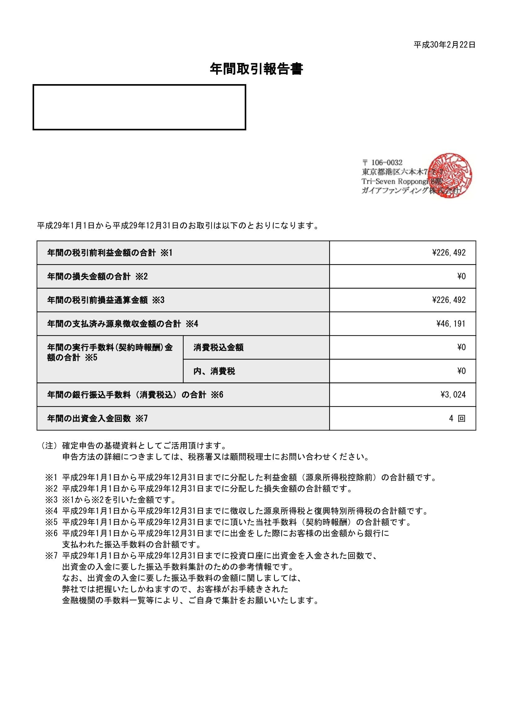 ガイアファンディング年間取引報告書_312_20180222-1