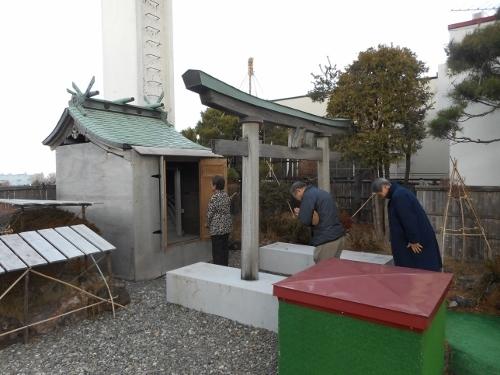 猿賀神社参拝