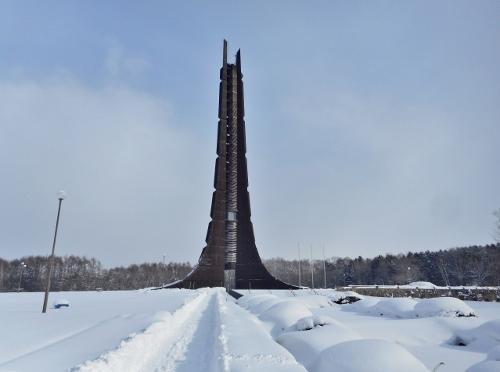 北海道百年記念塔 2018年