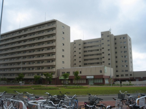 JR篠路駅西口 駅前広場