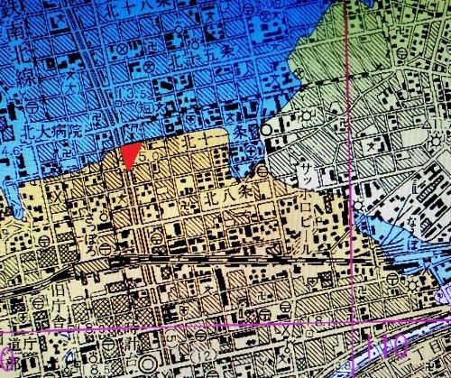 地盤地質図 北11条東2丁目周辺