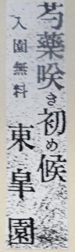 大正7年6月北海タイムス 東皐園広告