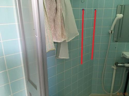 シャワーあか