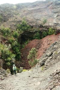 溶岩の噴出孔