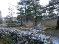 建仁寺の裏手のお庭