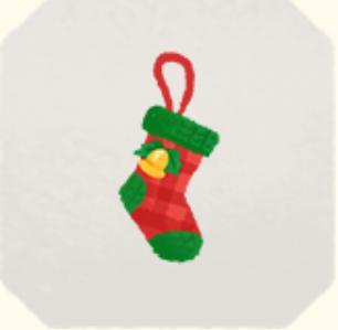 うきうきクリスマスソックス