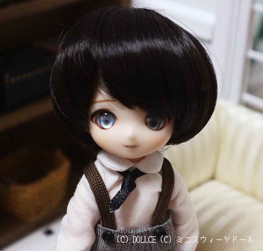 [Sunny*MooN] 4inch wig ジャックスタイル ブラックチョコレート