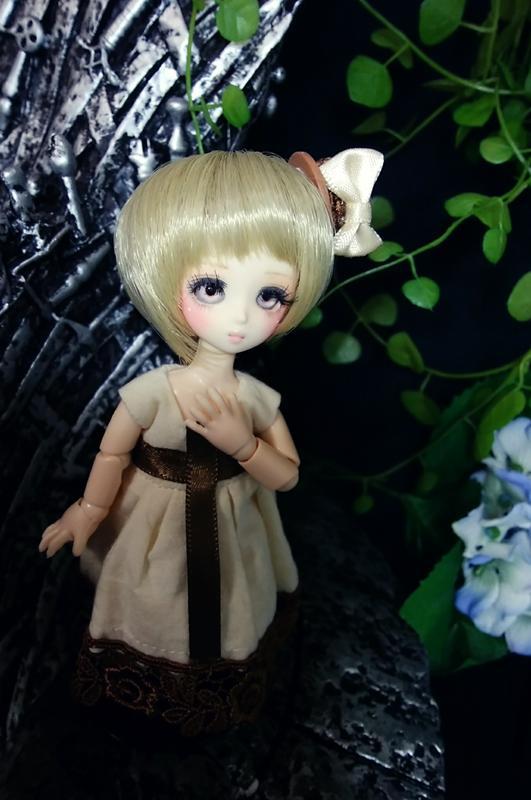 [人形屋☆リッターオルデン] オビツ11 縮小プチフェアリーカスタムドール「黄昏少女」 カスタムドール06