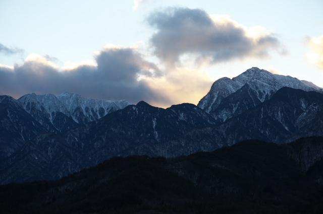 雪の少ない南アルプス甲斐駒ヶ岳-02