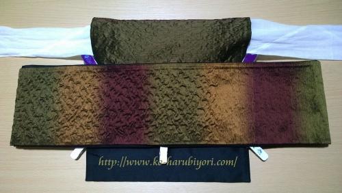 小春流作り帯(ワイヤー使用)●京袋帯対応胴囲計測写真