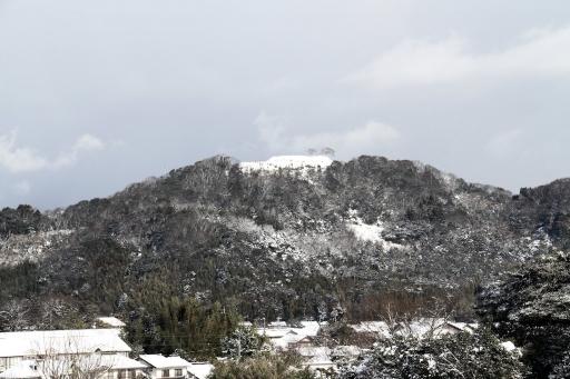 雪の茶臼山