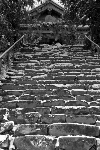 神魂神社の参道