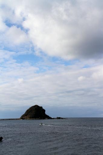 御津沖にある小島