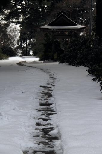 華蔵寺の境内
