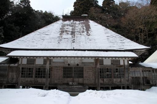 華蔵寺の本堂