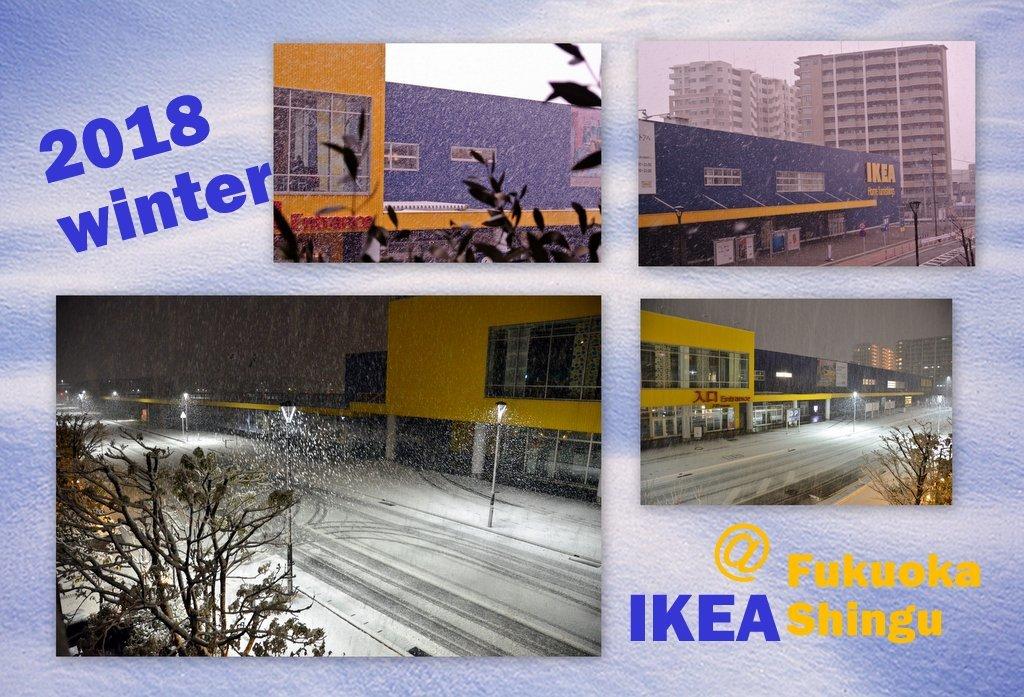 IKEA福岡新宮店snowy