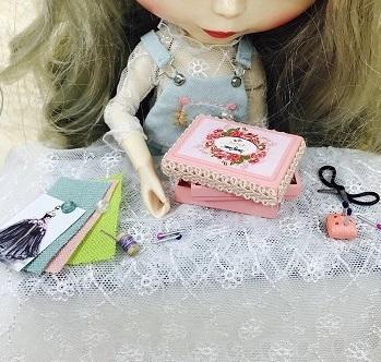 20180129 ドール用 裁縫箱