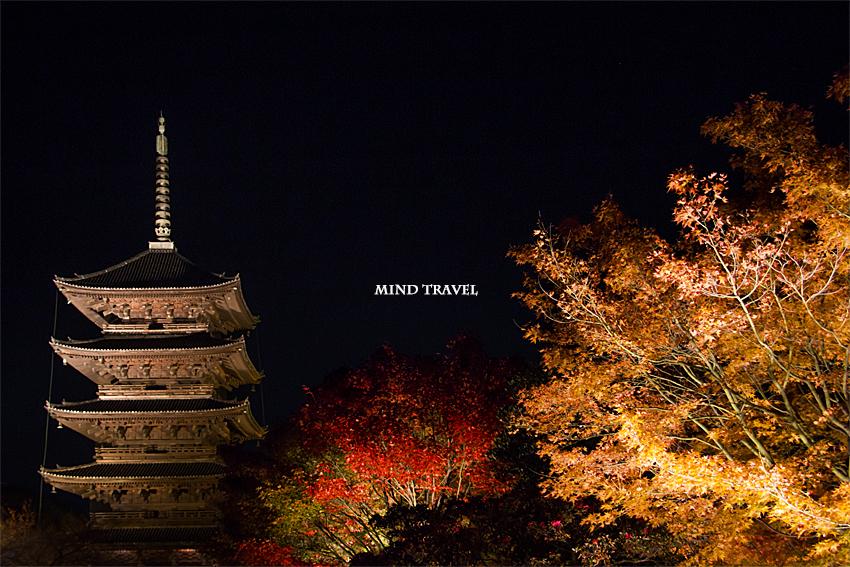 東寺 五重塔2