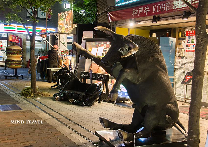 南京町 神戸牛バーガーの店2
