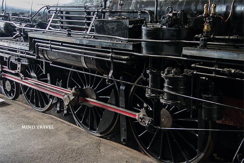 京都鉄道博物館 機関車 車輪