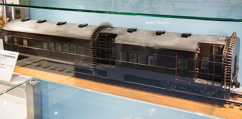 京都鉄道博物館 建築限界測定車
