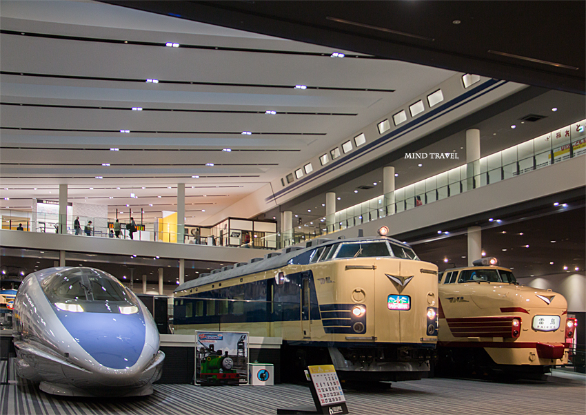京都鉄道博物館 雷鳥など