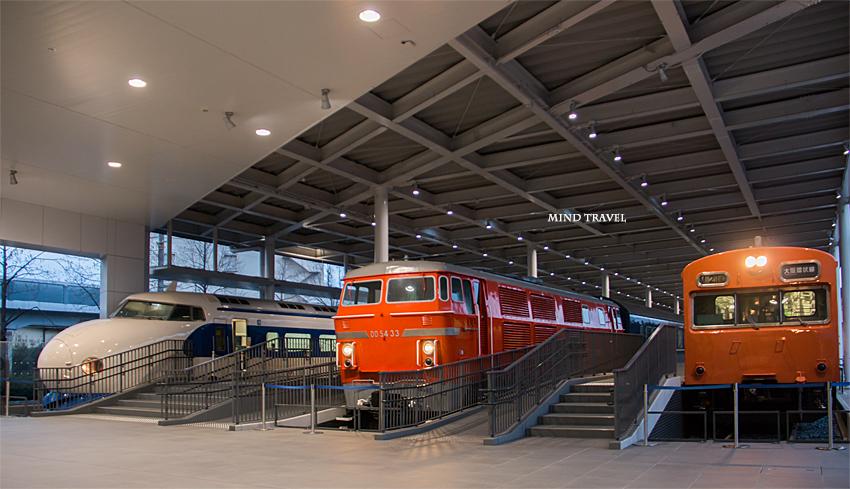京都鉄道博物館-環状線など