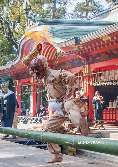 長田神社 追儺神事 鬼2