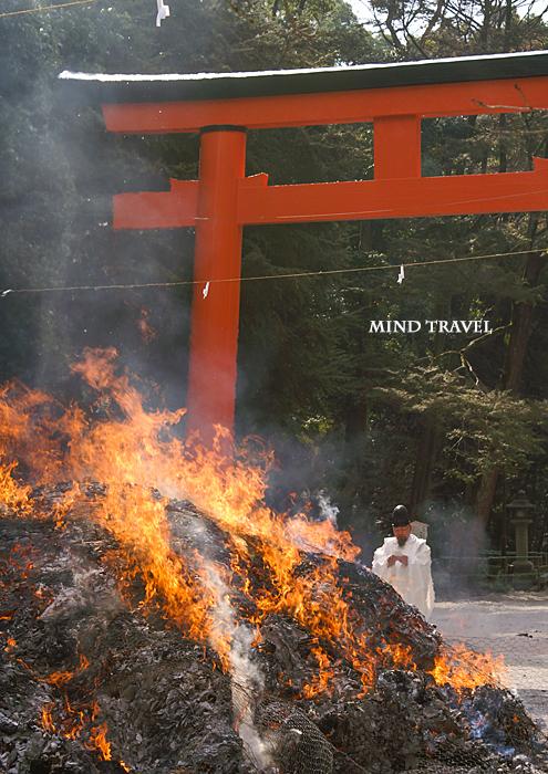 下鴨神社 古神礼焼納式