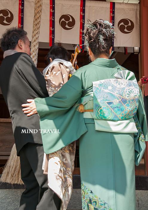 由良湊神社 ねり子祭-お参り