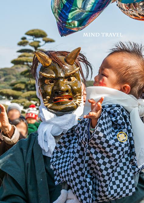 由良湊神社 ねり子祭り 鬼