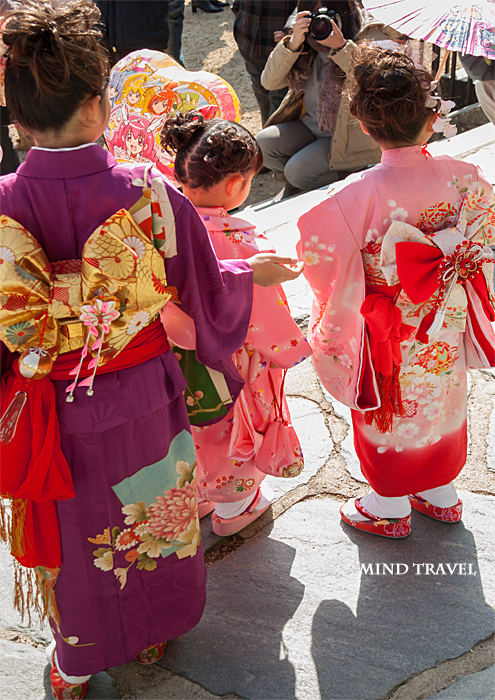 由良湊神社 ねり子祭-女の子たち