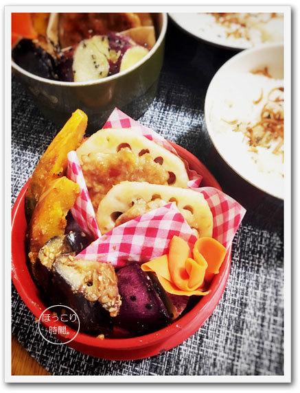 レンコン肉はさみ焼き弁当